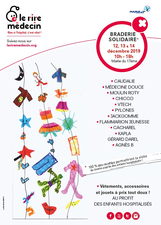 Braderie solidaire riremedecin