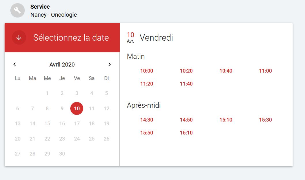 option horaires