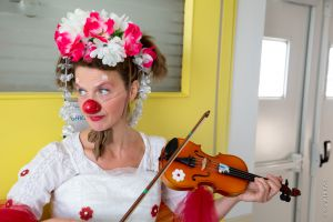 clown violon
