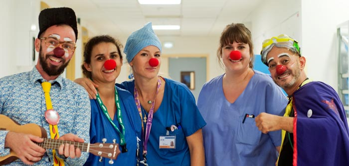 clown professionnel hopital
