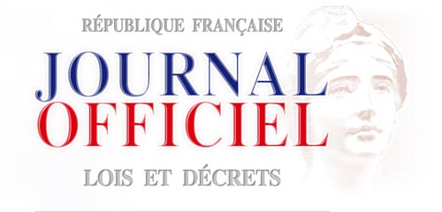 Déclaration au Journal Officiel
