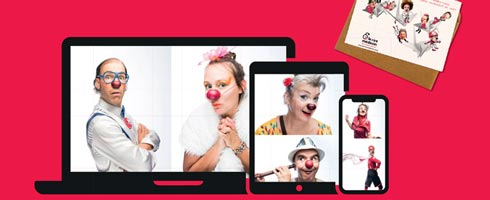 Innovation : des clowns en visio