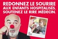 Gérard Jugnot donne le coup d'envoi de la campagne d'appel à dons du Rire Médecin